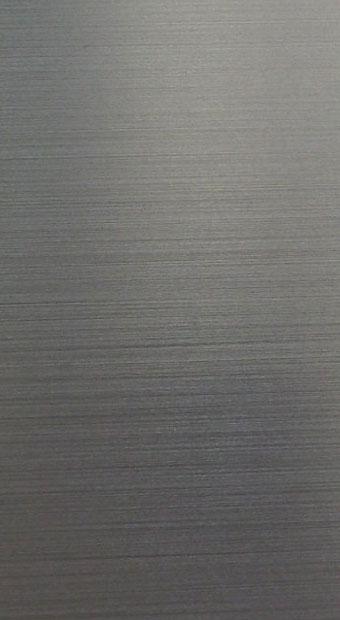 Välitila komposiitti: Tumma harjattu alumiini