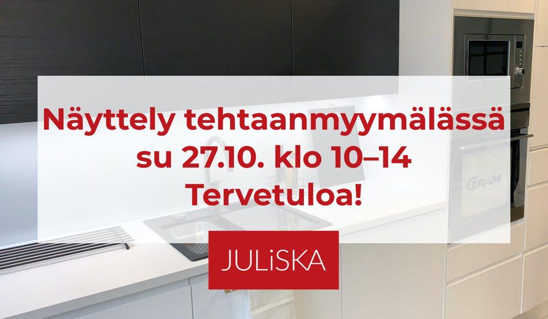 Tervetuloa Hämeenlinnan tehtaanmyymälään su 27.10.